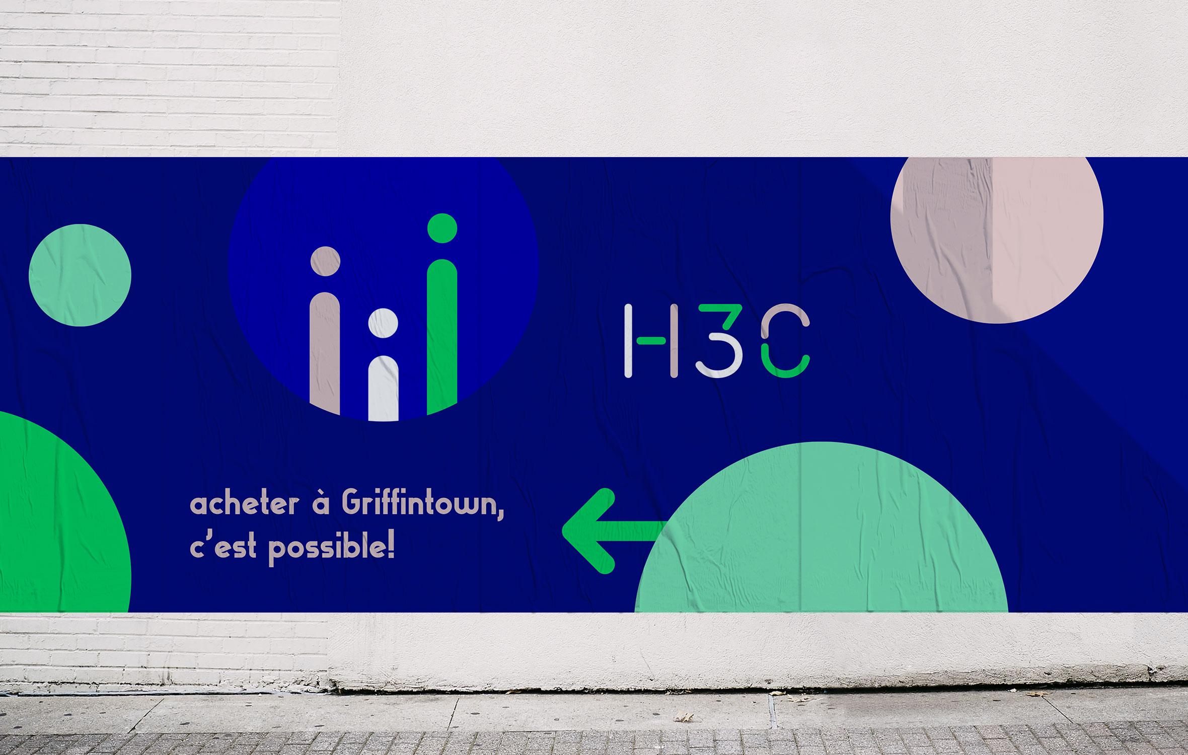 H3C - Projet immobilier - Affichage - Bivouac Studio