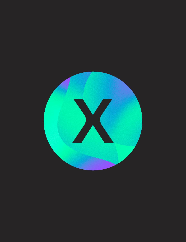 X Effervescence - Déclinaison logo